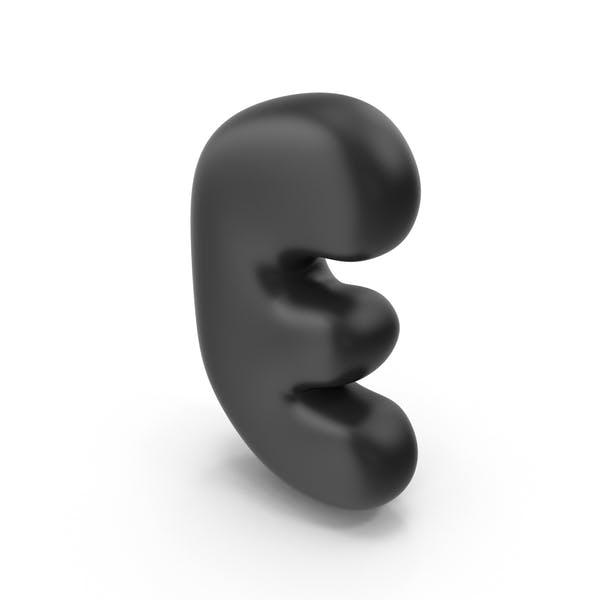 Thumbnail for Bubble Letter E