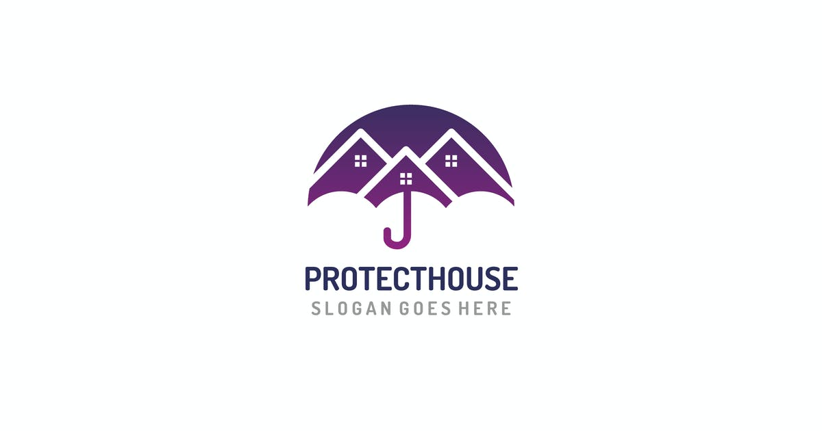 House Protection Logo by 3ab2ou