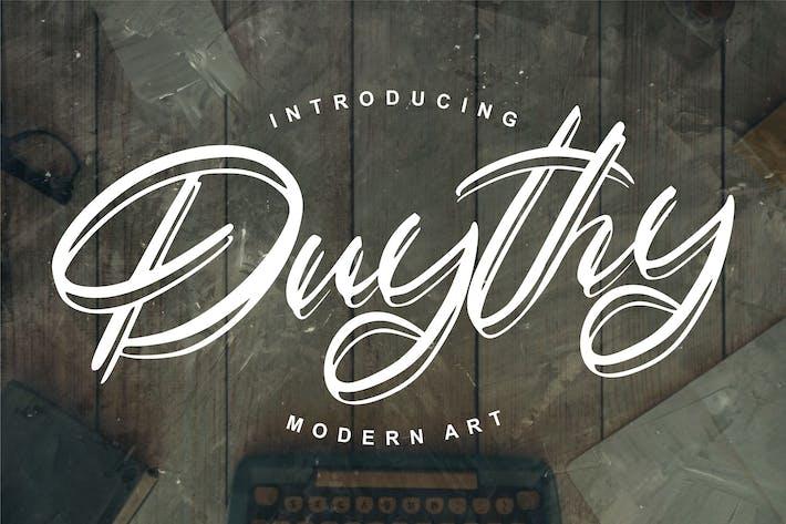 Thumbnail for Duythy | Modern Art Font