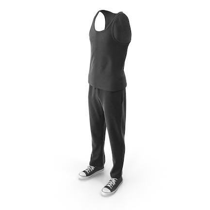 Mens Sport Clothing Black