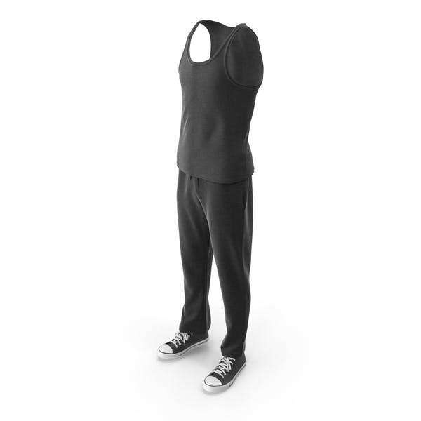 Мужская спортивная одежда черный