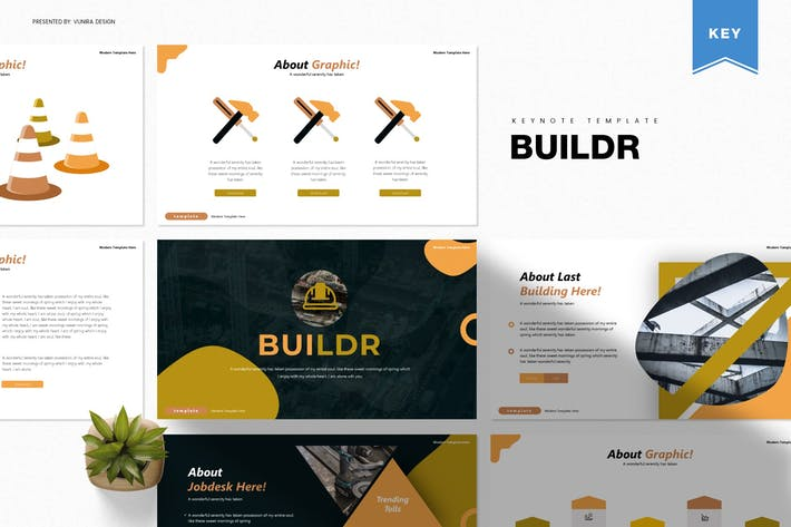 Thumbnail for Buildr | Keynote Template