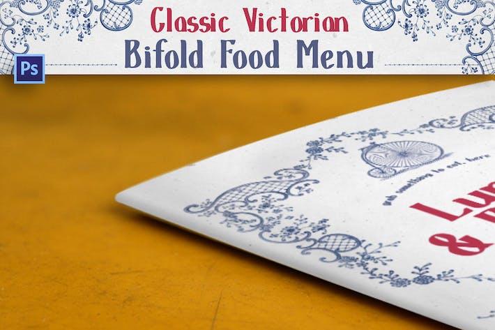 Thumbnail for Classic Victorian Bifold Menu