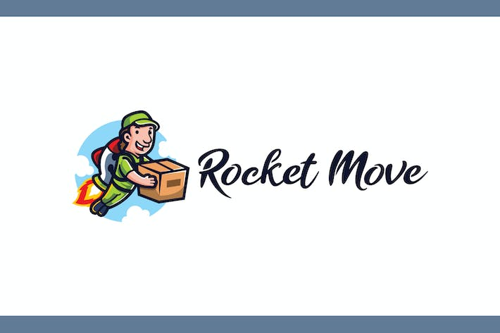 Thumbnail for Rocket Move - Moving and Storage Service Logo