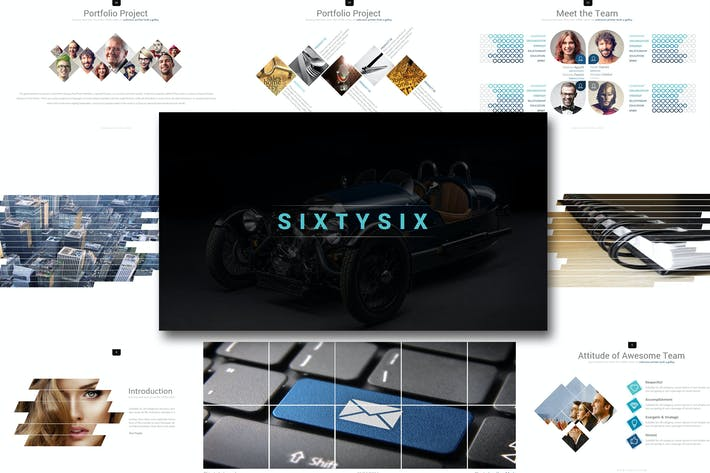 Thumbnail for Sixty six - Google Slides