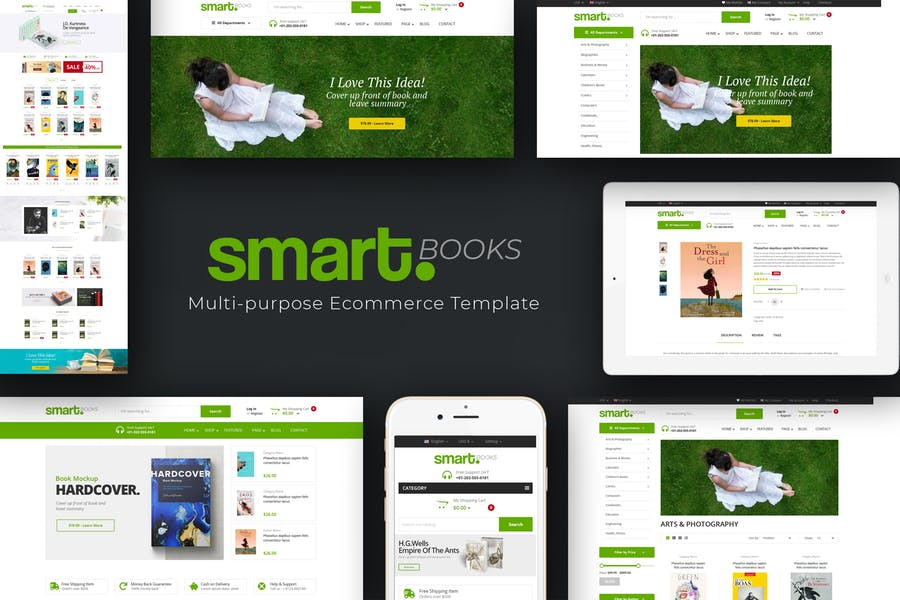 Smartbook - Book Store Prestashop Theme - product preview 0