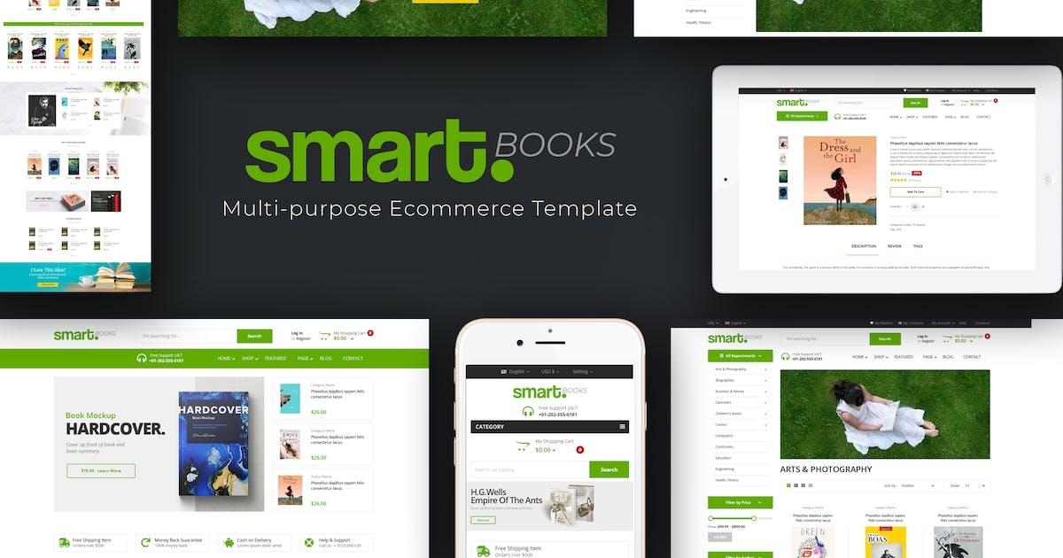 Download Smartbook - Book Store Prestashop Theme by posthemes