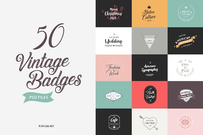 Thumbnail for Vintage Badges