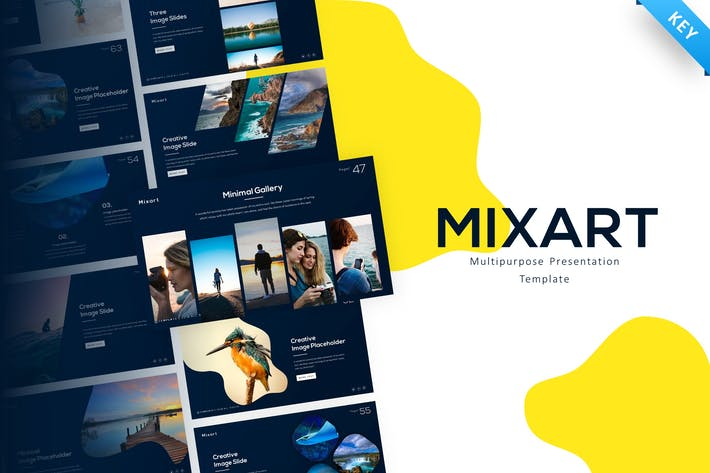 Thumbnail for Mixart Multipurpose Creative Keynote Template