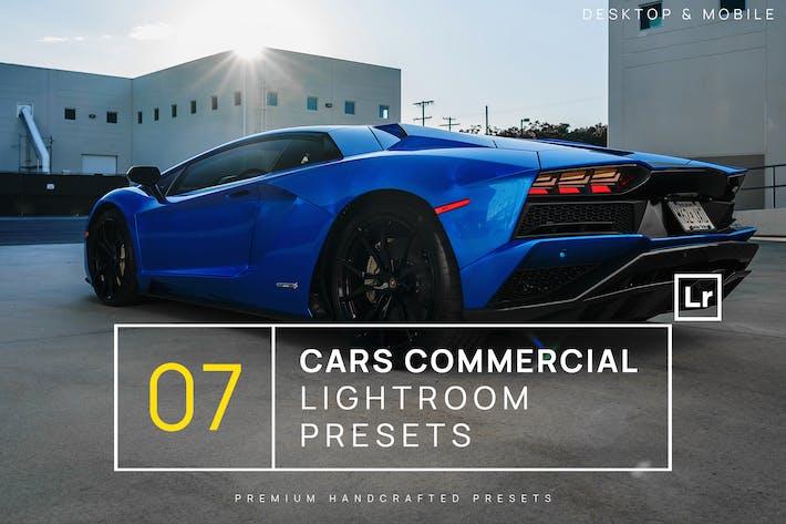 Thumbnail for 7 автомобилей Коммерческие пресеты Lightroom + Мобильный