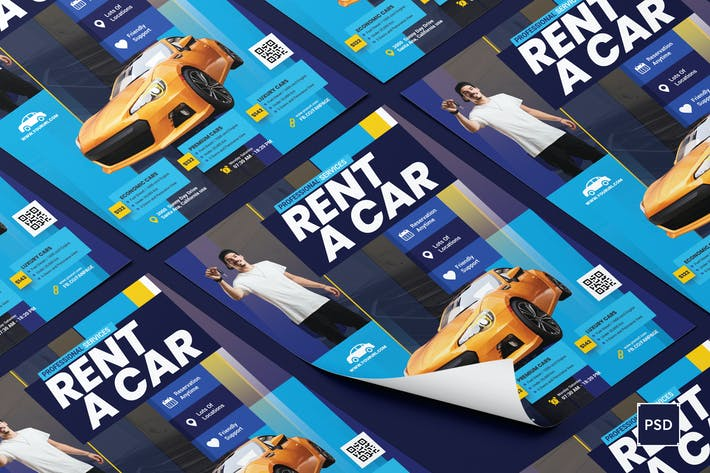Thumbnail for Rent a Car Flyer
