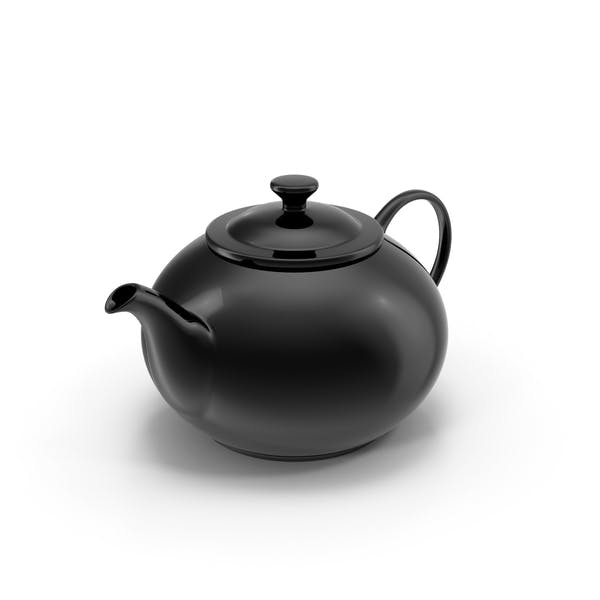 Cover Image for Black Teapot