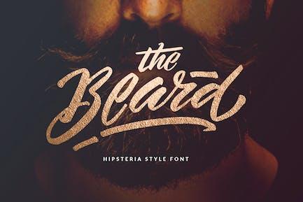 The Beard - Logotipo de marca