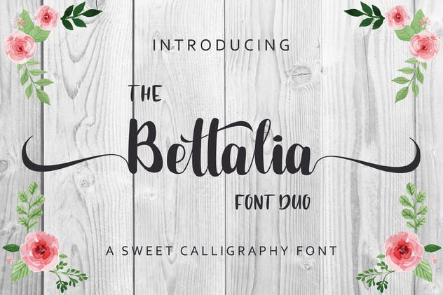 The Bettalia - Script Font - product preview 0
