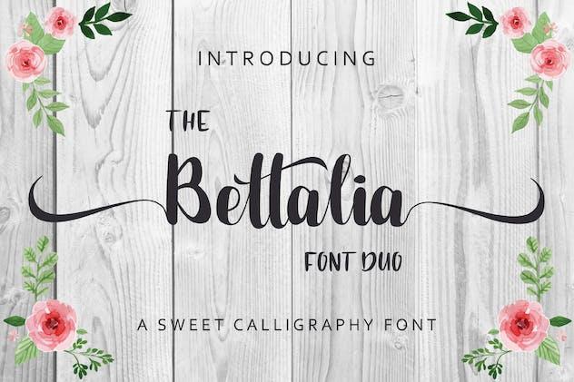 The Bettalia - Script Font