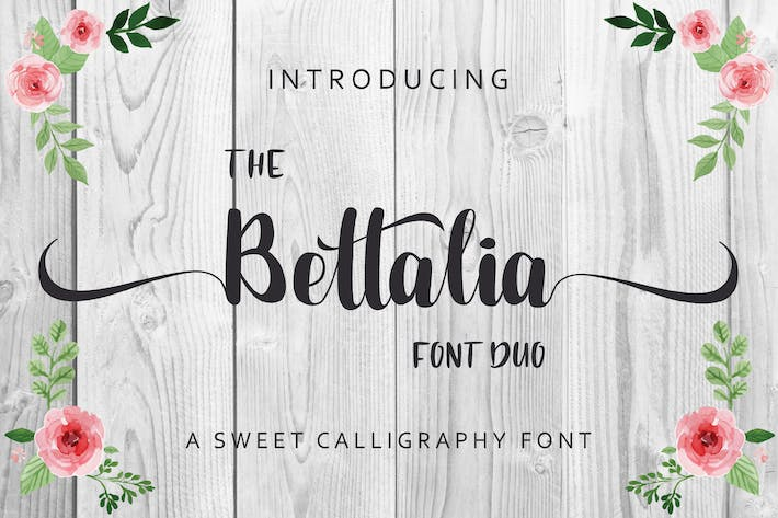 Thumbnail for The Bettalia - Script Font