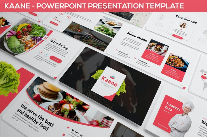 Thumbnail for Kaane - Fresh Powerpoint Template