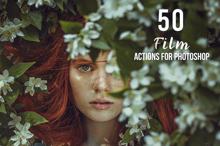 Thumbnail for 50 Film Photoshop Actions