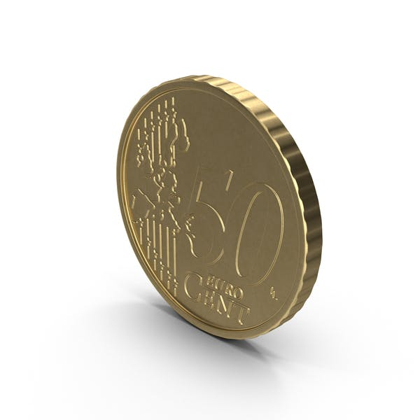 French 50 Cent Euro Coin