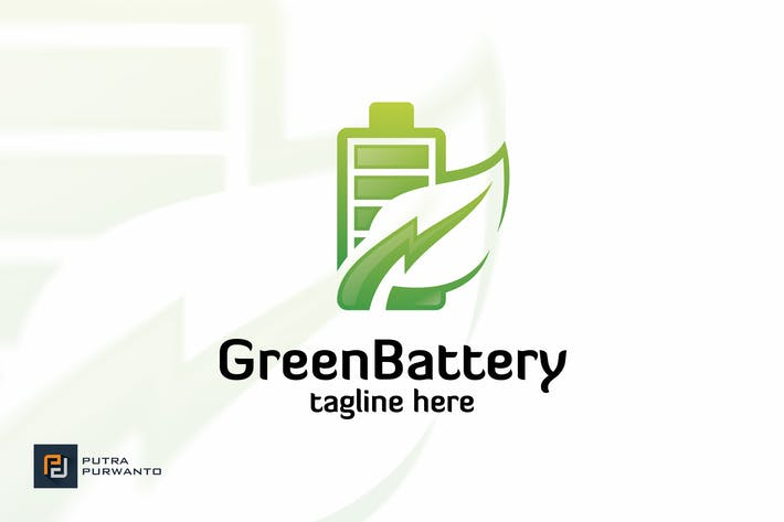 Thumbnail for Green Battery - Logo Template