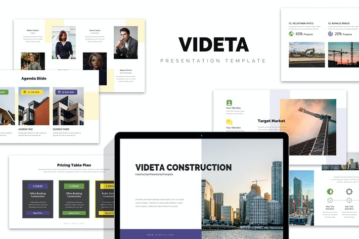 Thumbnail for Videta : Building Construction Powerpoint