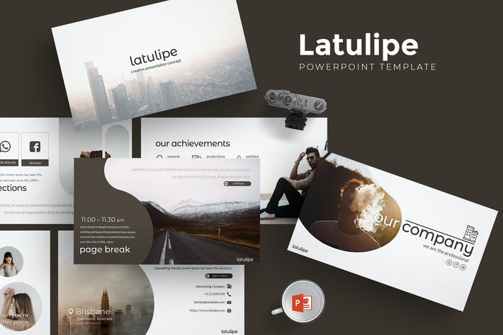 Thumbnail for Latulipe- Powerpoint Template