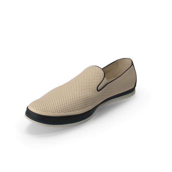 Mens Shoe Beige