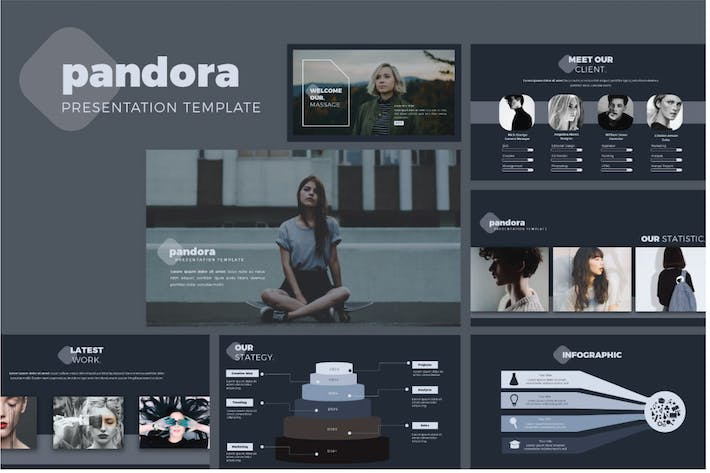 Thumbnail for Pandora Powerpoint