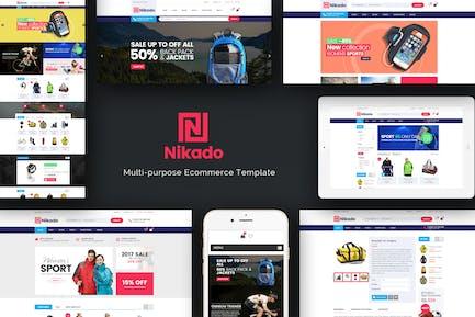 Nikado -Responsive Theme for WooCommerce WordPress