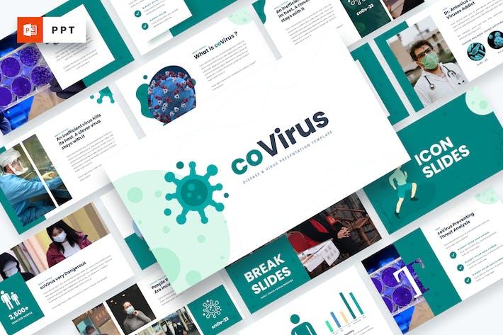 Thumbnail for Covirus - Disease & Virus Powerpoint Template
