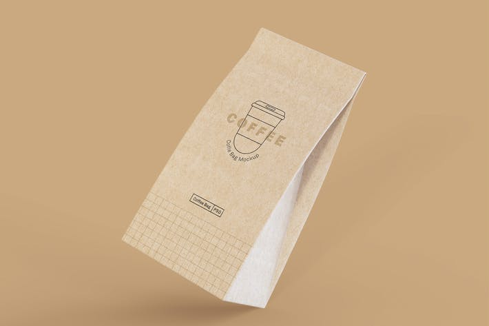 Thumbnail for Paper Coffee Bags Mockup.