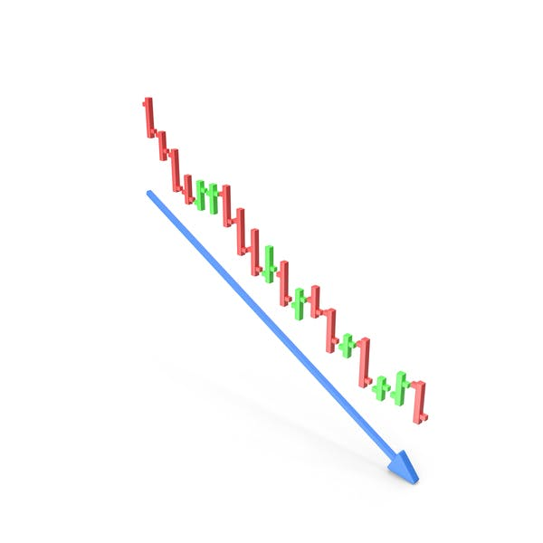 Stock Chart Downtrend