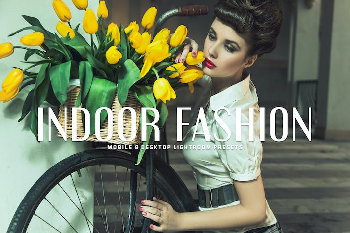 Thumbnail for Indoor Fashion Mobile & Desktop Lightroom Preset