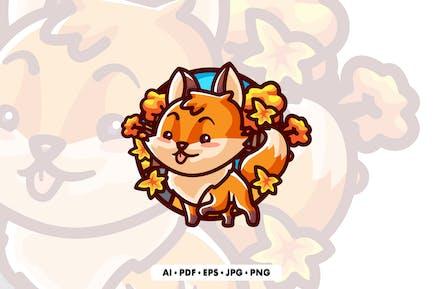 ilustración de dibujos animados de Fox
