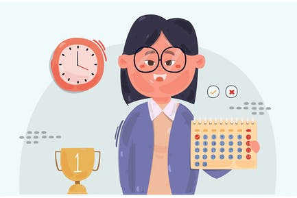 Illustration de l'employé du mois (2)