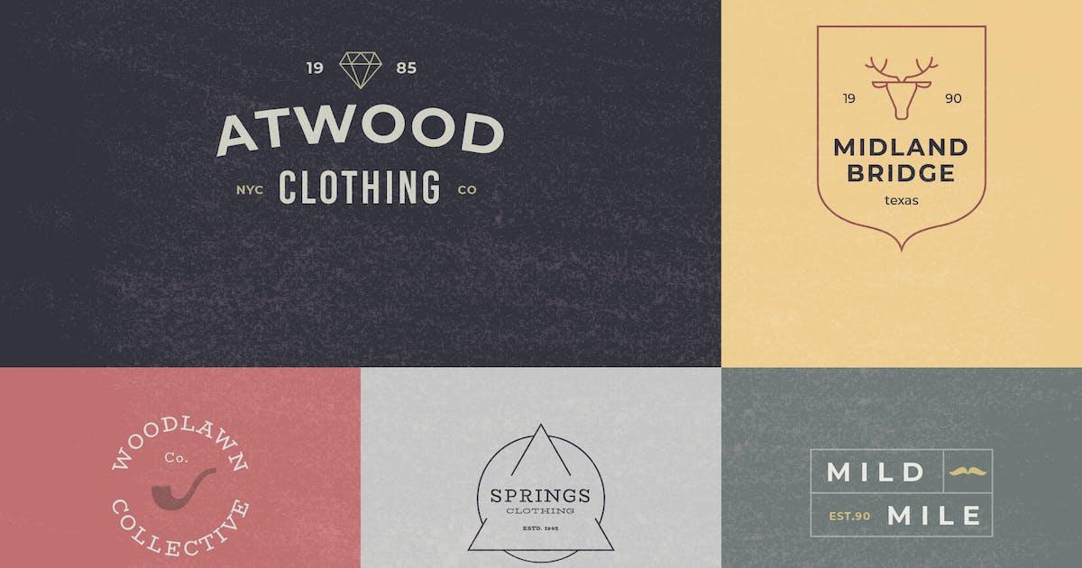 12 Logos and Badges Template Vol.2 by artimasa_studio