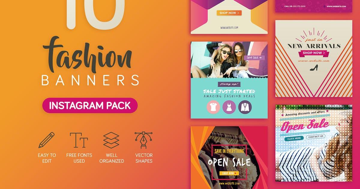 Download Fashion Banners by brandifystudio