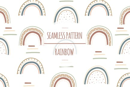 Rainbow – Seamless Pattern