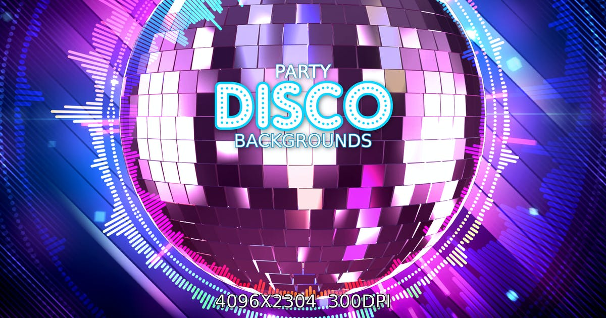 Download Disco Party Backgrounds by VProxy