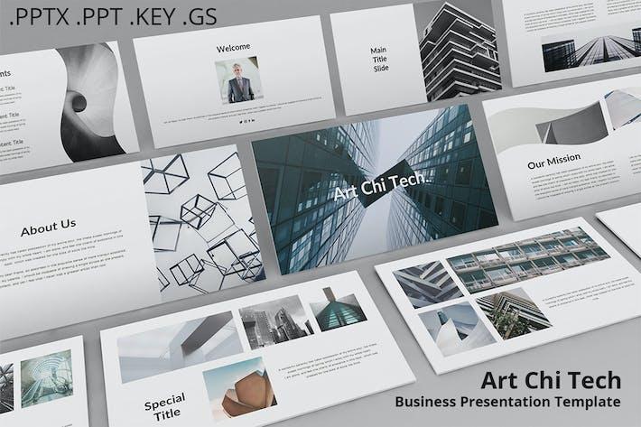 Thumbnail for Art Chi Tech - Бизнес Презентация слайдов Google