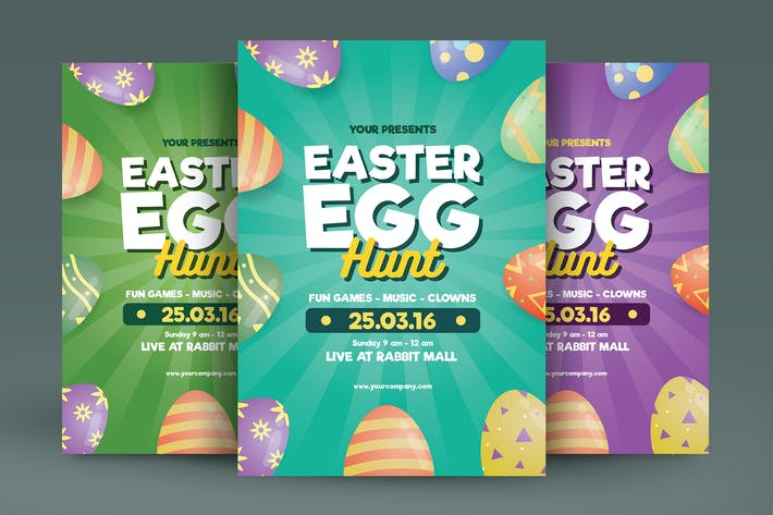 Thumbnail for Easter Flyer