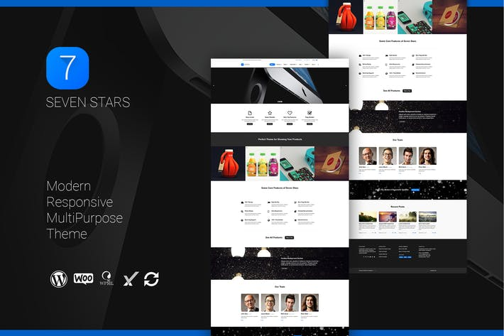 Thumbnail for Seven Stars - Modern Responsive MultiPurpose Theme