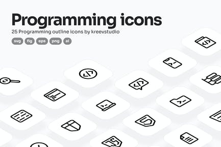 Programming Line Icons
