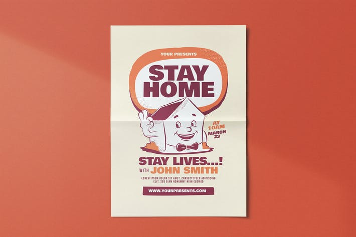 Thumbnail for Stay Home Flyer