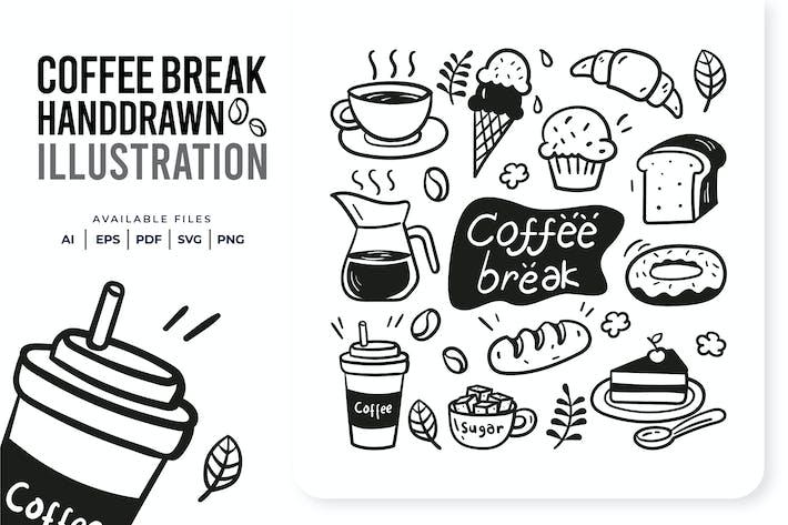 Thumbnail for Coffee Break Handdrawn
