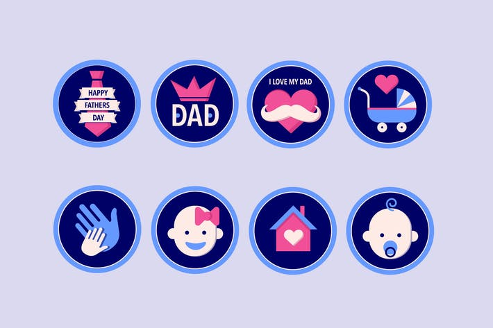 Cover Image For Daddy Badges