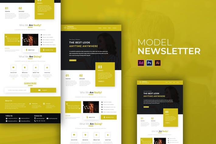 Thumbnail for Modell | Newsletter-Vorlage