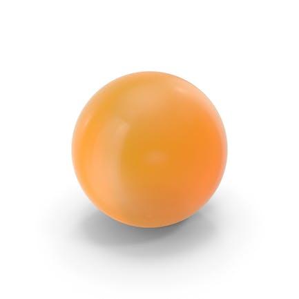 Orange Ball Glass