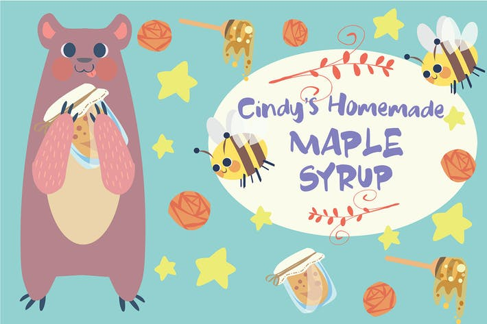 Thumbnail for Maple Syrup - Vector Illustration