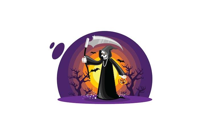 Thumbnail for Faucheuse d'Halloween